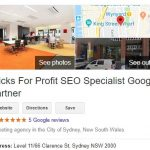 clicks for profit google my business listing